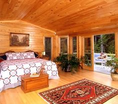 1000 Images About Log Home Bedrooms On Pinterest Log