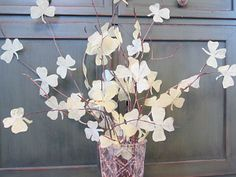 These are so pretty! Love fun crafts and these Shamrock branches look great for St. Patrick's Day!