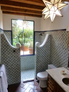 spanish style homes (spanish home design ideas) Tags: Interior spanish . - spanish style homes (spanish home design ideas) Tags: Interior spanish homes, exterior Int - House Design, Spanish Style Bathrooms, Adobe House, Bathroom Styling, House Styles, Southwestern Decorating, Spanish House, Bathroom Design, Bathroom Decor