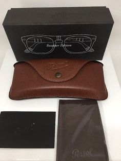 New Original Persol Roadster Edition Sunglasses Case Folding Case With Box