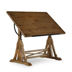 Hooker Furniture Menlo Park Drafting Table - Drafting Tables at Drafting Tables