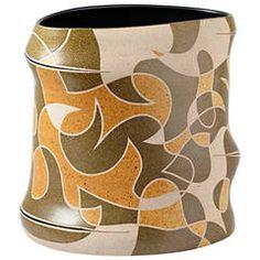 Important Stoneware Vase by Gustavo Pérez