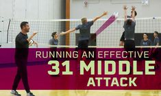 Coaches, does your offensive playbook need a new quick set? Well, have you utilized the 31. The 31 is a fast set to the middle that attacks a gap between two blockers. In this video, Kerry MacDonald of Volleyball Canada discusses various scenarios in which the 31 set to the middle attacker can be utilized. 📍Check it out by going to our LINK IN BIO!