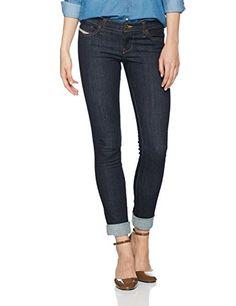 Diesel - Skinzee-low L.32 - Jeans - Femme - Bleu (Blau) - W30 (Taille  fabricant  30) c61387c33242