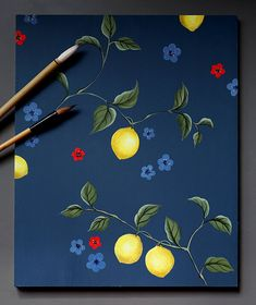 This surface pattern was designed by Rachel Spelling for Studio Spelling, in response to her time painting the epic Chinese wallpaper at Pitzhanger Manor in Ealing, London. It can be ordered by the square metre and can be painted on or off-site. Scale and background colour can be adjusted to suit the space. Seen here with Farrow and Ball Stiffkey blue. Stiffkey Blue, Chinese Wallpaper, Background Colour, Chinoiserie Wallpaper, Time Painting, Great Friends, Surface Pattern, Spelling, Colorful Backgrounds