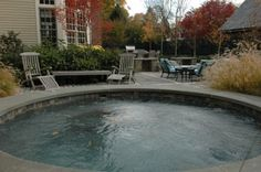round pool!   by Timothy Lee landscape design