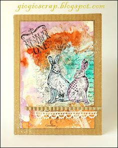 Card by Gio using an Alice Palace stamp
