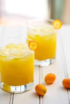 Kumquat Margaritas #Beverages