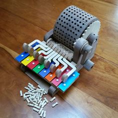 Car Glockenspiel – Visit our site for the most beautiful diy projects 3d Printer Designs, 3d Printer Projects, Diy Projects, Craft Activities For Kids, Diy And Crafts, Crafts For Kids, Wood Crafts, Wooden Music Box, Diy Music Box
