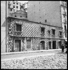 Kontestu: LISBOA ANTIGA/LISBOA ACTUAL-Casa dos Bicos e um pouco de história