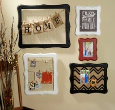 Whimsical Open Back Frames  by Sarah Owens for #CraftWarehouse