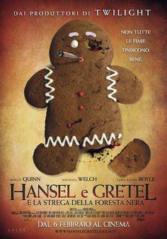 cover maniak!: Hansel & Gretel e la strega della foresta nera (20...