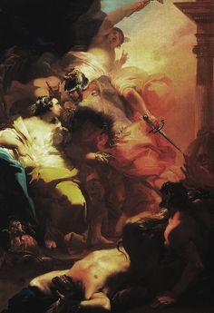 Gaetano Gandolfi, Odysseus and Circe, 1766