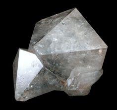 Quartz var. Cumberland-habit with Hematite inclusions from Cumberland, England