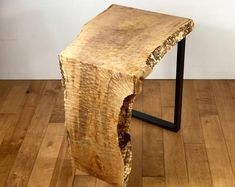 Excited to share the latest addition to my shop: SOLD-Live Edge Maple Waterfall End Table, Live Edge Furniture Table, Figured Maple Live Edge Table, Modern End Table, Slab Furniture Diy End Tables, Modern End Tables, End Table Sets, Wood End Tables, Diy Table, Wood Table, Slab Table, Side Tables, Live Edge Tisch