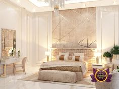 Luxury Antonovich Design offers professional services for designer renovation and fit-out of the bedroom.📞📞📞 50 607 2332 55 999 4994 54 757 9888 4 551 3144 📌📝Send us messages! Modern Luxury Bedroom, Luxury Home Decor, Contemporary Bedroom, Luxurious Bedrooms, Modern Classic Bedroom, Modern Classic Interior, Luxury Bedroom Design, Master Bedroom Design, Luxury Interior Design