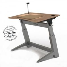 Pretty cool standing desk and seat.  Do you still call it a seat at a standing desk?