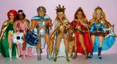 Easily one of the best and well made action figure lines of the 1980's to hit the toy stores without the aid of a cartoon series to boost sales, Golden Girl and the Guardians of the Gemstones by Galoob
