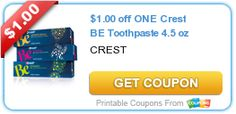 CVS: Free Crest Toothpaste 6/15 (print coupons now) on http://www.tipresource.com