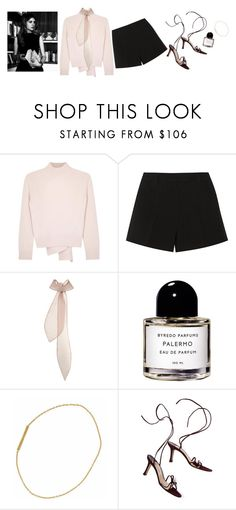 """""""Untitled #228"""" by bittealt ❤ liked on Polyvore featuring Alexander McQueen, Emilio Pucci, Emilia Wickstead, Byredo and Manolo Blahnik"""
