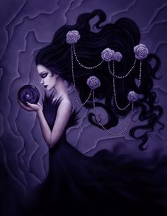 Reflection of me by Enamorte~fantasy art~ Dark Gothic Art, Gothic Fantasy Art, Dark Art, Estilo Dark, Steampunk, Harley Quinn Comic, Goth Art, Dark Beauty, Light Art