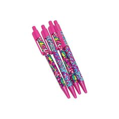 Lilly Pulitzer Pen Set ($20) ❤ liked on Polyvore featuring home, home decor, office accessories, lilly pulitzer pens and lilly pulitzer