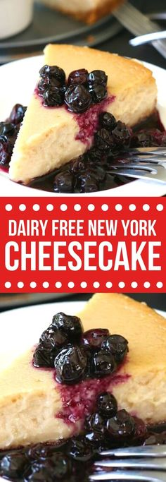 Vegan New York Style Cheesecake is a dream come true. Completely dairy free with all the pleasure of a baked cheesecake.