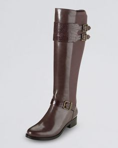 Cole Haan Tennley Buckled Knee Boot