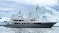 From Moscow-based builder Timmerman, the 44.98m vessel's 11,000-mile voyage from Fort Lauderdale to Alaska through the Northwest passage won the award for owner Anil Thadani, a polar bear enthusiast.