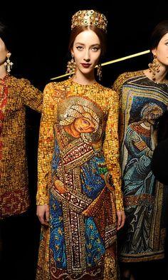 The Chronicles of Amoronia: Dolce Gabbana AW13-14: Byzantine inspiration