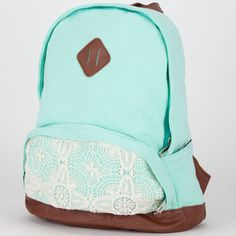 mint green backpack - Google Search                                                                                                                                                                                 More