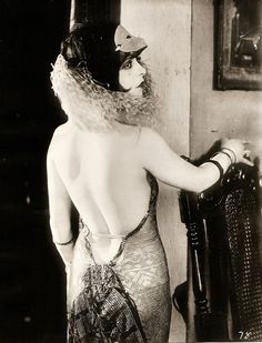 Clara Bow - Heisenburgos loves this dress...  And the mask is a plus.  ;-)