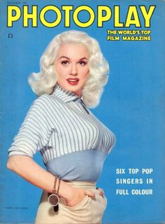 Mamie Van Doren  One of several platinum blondes who appeared after Marilyn Monroe.  They didn't have her talent or maybe didn't get the breaks.