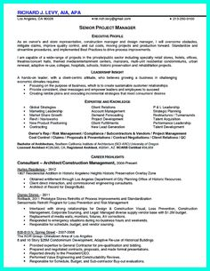nice simple construction superintendent resume example to get applied
