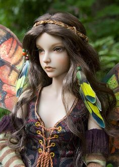 dolls by Martha Boers   Lilac - Website and blog of Martha Boers, award-winning Canadian doll ...