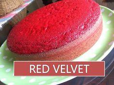 Torta esponjosa de Red Velvet o terciopelo rojo| LA MEJOR RECETA PARA N...
