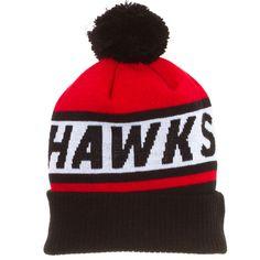08dc801de Chicago Blackhawks Wordmark Cuffed Knit Hat