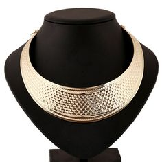 Fashion Women Multilayer Statement Punk Necklace Charm Party Gold Plated Luxury Neck Fit Choker Collar Necklaces