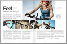 two page spread