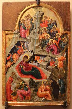 Artista_cretese,_natività,_1550-1600_ca.jpg (1554×2352)  RAVENNA COLL. CLASSENSE