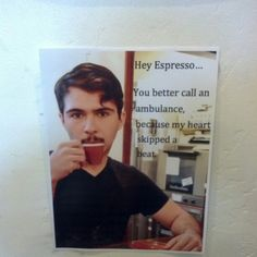 Alec Cole's silly & funny #coffee lovers collage