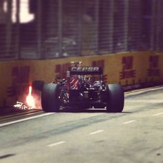 This was the end of #Quali for @carlosainz at the #SingaporeGP. He's out in #Q2 with BUT PER ALO and HUL. Vettel P1 Hamilton P6 heading into #Q3. #F1NightRace #F1 #Qualifying #Formula1 #CarlosSainz #ToroRosso by f1