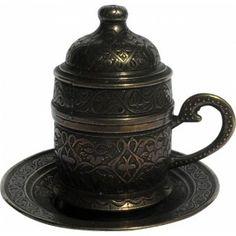 Filiżanka do kawy po turecku w stylu ottomańskim  www.galerisultan.pl