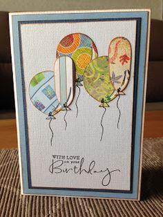 Randis hobbyverden: Birthdaycard eller som vi sier: Bursdagskort :)