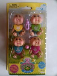 New Cabbage Patch Kids Babysland Little Cabbage Patch Dolls Mini Figures
