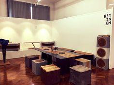 #Potentiale#Feldkirch#2017#betonen Feldkirch, Conference Room, Table, Design, Furniture, Home Decor, Upholstered Stool, Handmade, Timber Wood