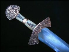 Reproduction of the Suontaka sword by MacDonald Armouries. The original was found in the grave of a Finnish woman.