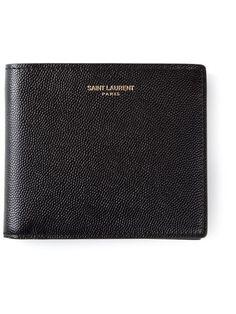 Saint Laurent, Bi-fold Wallet (Black)