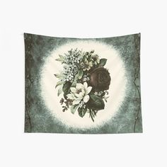 Floral Elegance Vintage Roses Shabby Chic Home Decor and Style Collection Wall Tapestry Wall Tapestries, Tapestry Wall Hanging, Wall Hangings, Shabby Chic Homes, Vintage Roses, Cool Walls, Window Coverings, Decorations, Wall Art