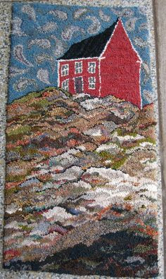 The Art of Hooking Rugs: A Video about Creativity and Rug Hooking | Deanne Fitzpatrick